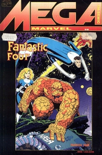 Jim Starlin, Tom DeFalco, Paul Ryan, Ron Lim ‹Mega Marvel #04 (3/94): Fantastic Four/ Infinity War›