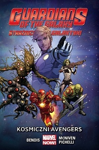 Brian Michael Bendis, Steve McNiven, Sara Pichelli ‹Guardians of the Galaxy – Strażnicy Galaktyki #1: Kosmiczni Avengers›
