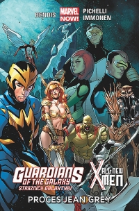 Brian Michael Bendis, Sara Pichelli, Stuart Immonen ‹Guardians of the Galaxy – Strażnicy Galaktyki #3:  All-New X-Men: Proces Jean Grey›