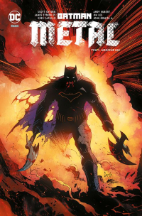 Scott Snyder, James Tynion IV, John Romita, Jim Lee, Andy Kubert, Greg Capullo ‹Batman Metal #1: Mroczne dni›